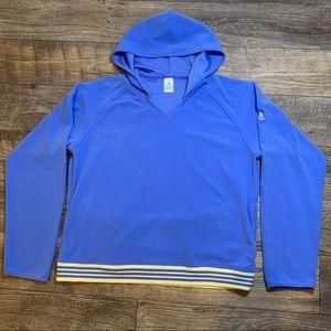 Adidas Women's Pullover Light Blue Size XL